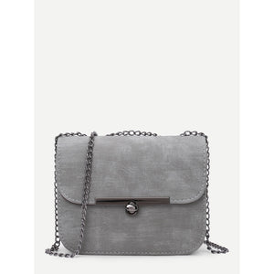 PU Shoulder Chain Bag