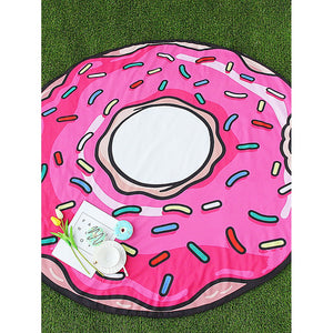 Doughnut Shape Cute Beach Blanket