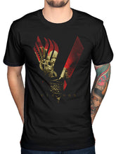 Cool Men Vikings Blood Sky T-Shirt