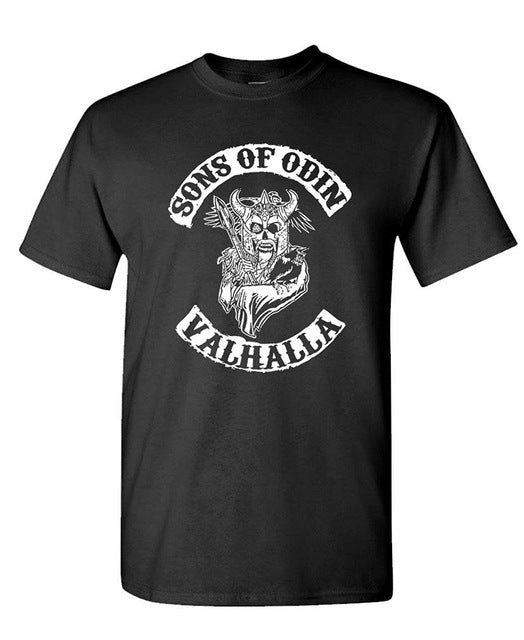 Cotton Sons Of Odin T Shirt