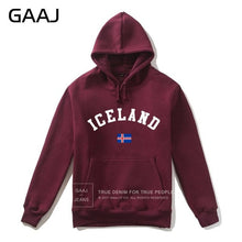 Iceland Flag Hoodies