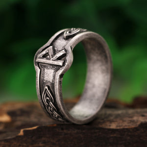 Silver Viking Rune Rings