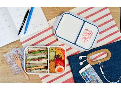 Rice Boy Bento Box | Bleu par  CB Japan - Bento&co - La boutique spécialiste du Bento, en direct de Kyoto