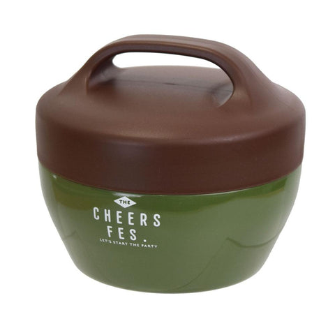 Cheers fes Thermos Bowl Kaki by Sabu Hiromori - Bento&co Japanese Bento Lunch Boxes and Kitchenware Specialists