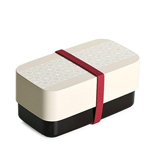 Bento Rectangle Asa No Ha | Ivoire par  Sabu Hiromori - Bento&co - La boutique spécialiste du Bento, en direct de Kyoto