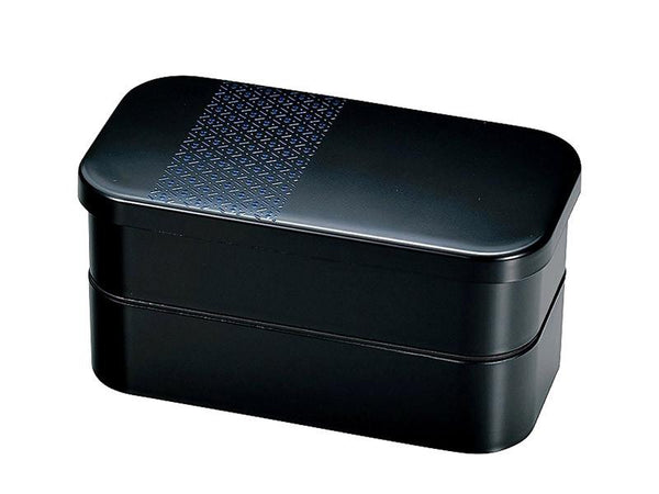 Hisago 2-stack Bento Box | Navy Blue