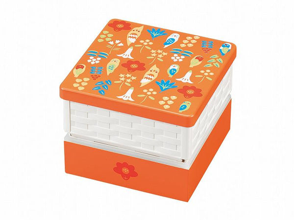 Kotoritachi Basket Bento Box | Orange