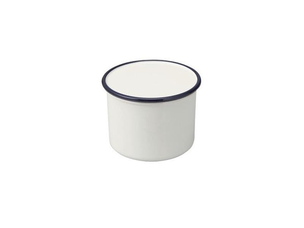Retro Moda Canister | White & Navy