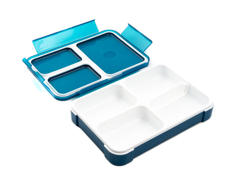 Foodman Thin Lunch box | Bleu par  CB Japan - Bento&co - La boutique spécialiste du Bento, en direct de Kyoto