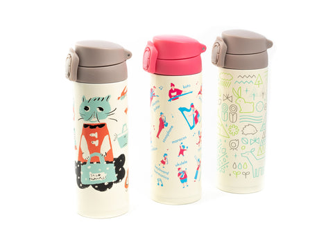 Gel Cool One Push Bottle | Musique par  Gel Cool - Bento&co - La boutique spécialiste du Bento, en direct de Kyoto