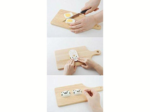 Yude Tama Egg Molds & Cutter | Kitty Cat Set