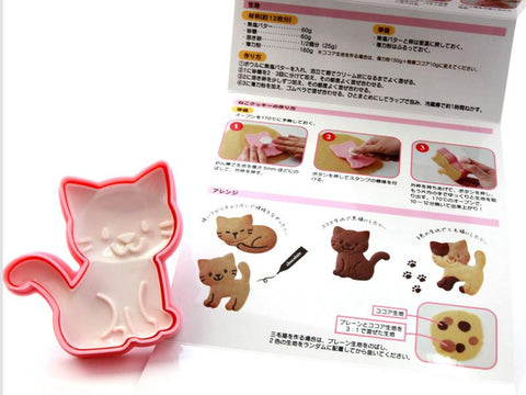 Moule Cookie Neko