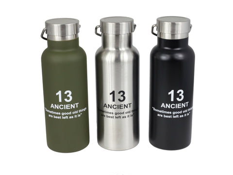 Ancient Stainless Bottle | Silver par  Showa - Bento&co - La boutique spécialiste du Bento, en direct de Kyoto