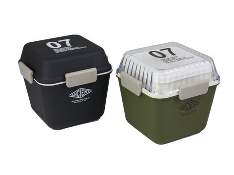Ancient Tall Lunch Box | Army Green