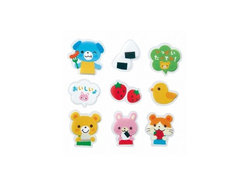 Animal Friends Food Balan Dividers by Torune - Bento&co Japanese Bento Lunch Boxes and Kitchenware Specialists