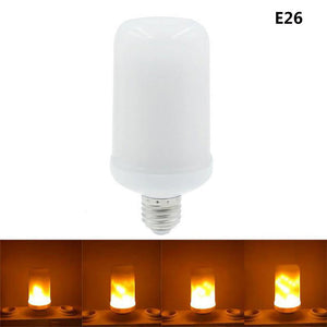 Flame Flickering Effect Fire Light Bulb