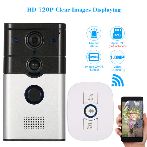 Wireless two-way voice intercom Doorbell Infrared Night View