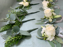 Buttonieres and wrist corsages