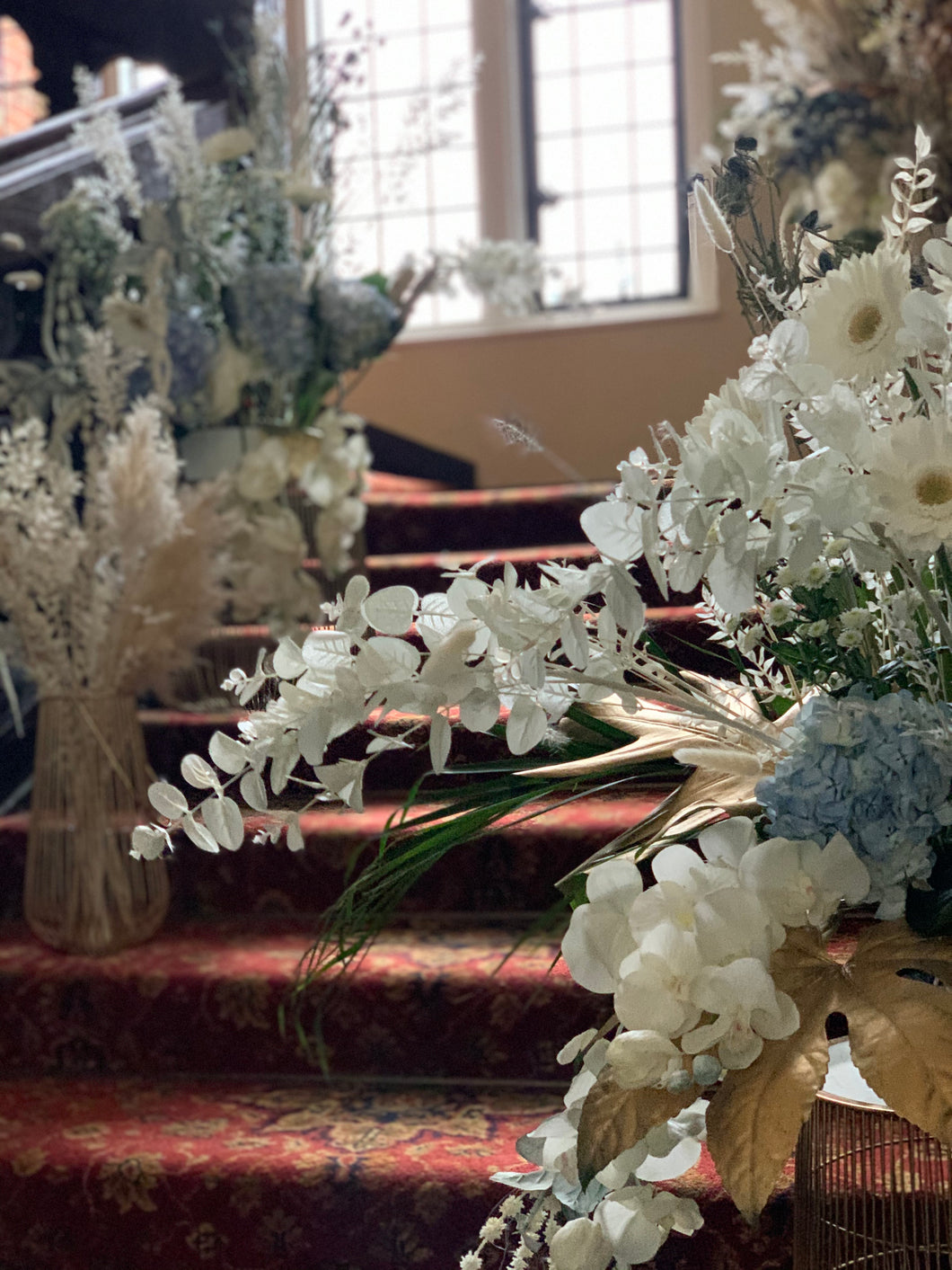 Wedding venue Florals