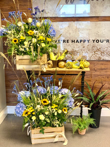 Harvest Event florals