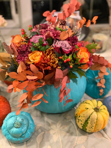 Autumn Table Florals