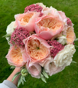 Wedding Rose & Peony Posy Bouquet