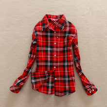 Super Soft Plaid Shirt - up to XXL - My Chronic Style