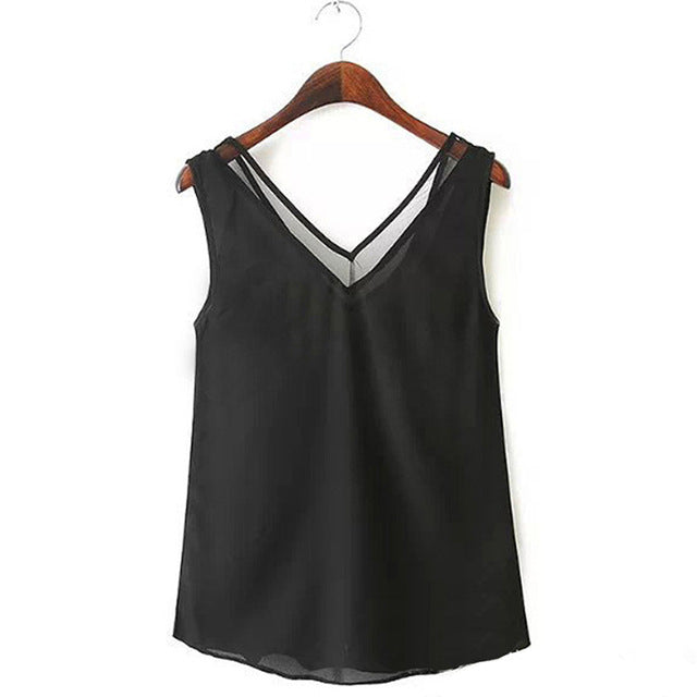 Gorgeous V-Neck Vest - My Chronic Style