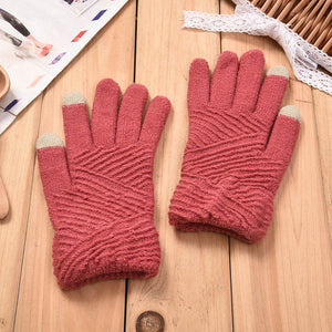 Fluffy, Knitted Gloves - My Chronic Style