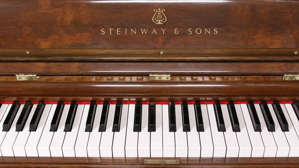 Pre-Owned Vertical Steinway & Sons 52in