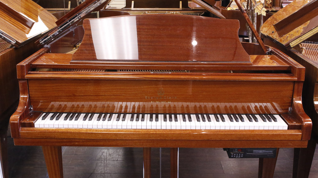 Pre-Owned Story & Clark W/QRS 185 Grand Piano