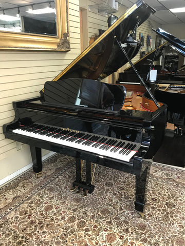 Pre- Owned Seiler 206 - Polished Ebony Grand Piano