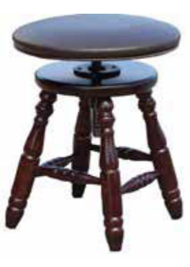 UPHOLSTERED TOP STOOL - J70