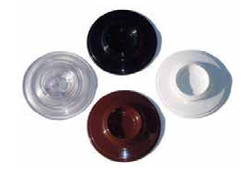 CASTER CUPS - PLASTIC