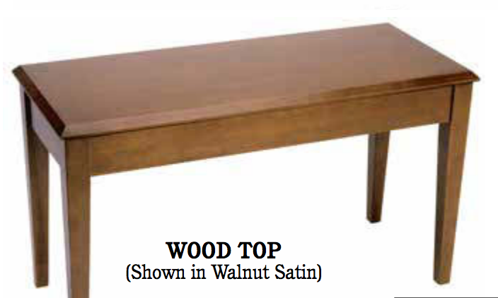 Grand Bench- Satin Finish Options