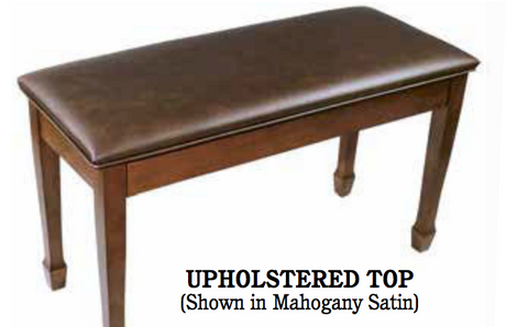 Benches Upright- Upholstered