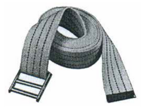 MOVING EQUIPMENT - DUAL TRUCKS WEB STRAPS