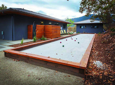 DIY Bocce Ball Court -1889 Washington