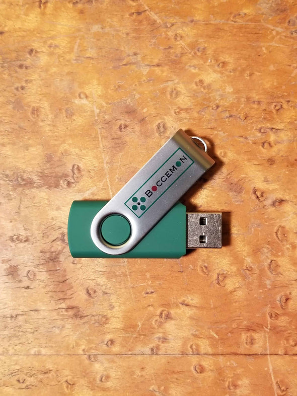 Boccemon Oyster Court Maintenance USB Drive