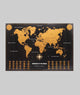 Wonders of World Scratch Map