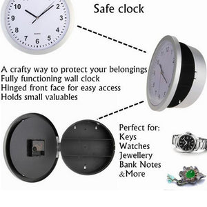 Clock with hidden safe!