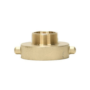 "B37-25Q10T - Reducer 2.5"" Female QST x 1"" Male NPT Brass Pin Lug"