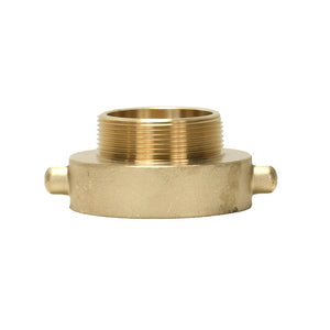 "B37-25Q20T - Reducer 2.5"" Female QST x 2"" Male NPT Brass Pin Lug"