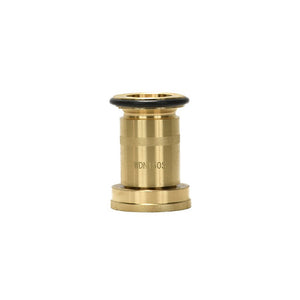 "WDN150S - 1.5"" Fog Nozzle, NPSH, Brass with Black Bumper"