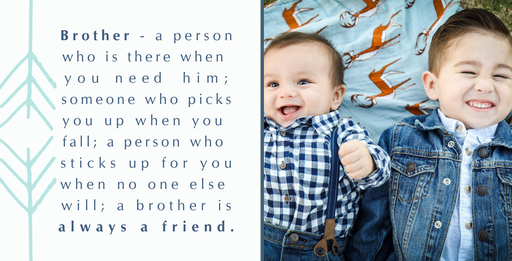 Brother | 400x200 | Word & Photo Block