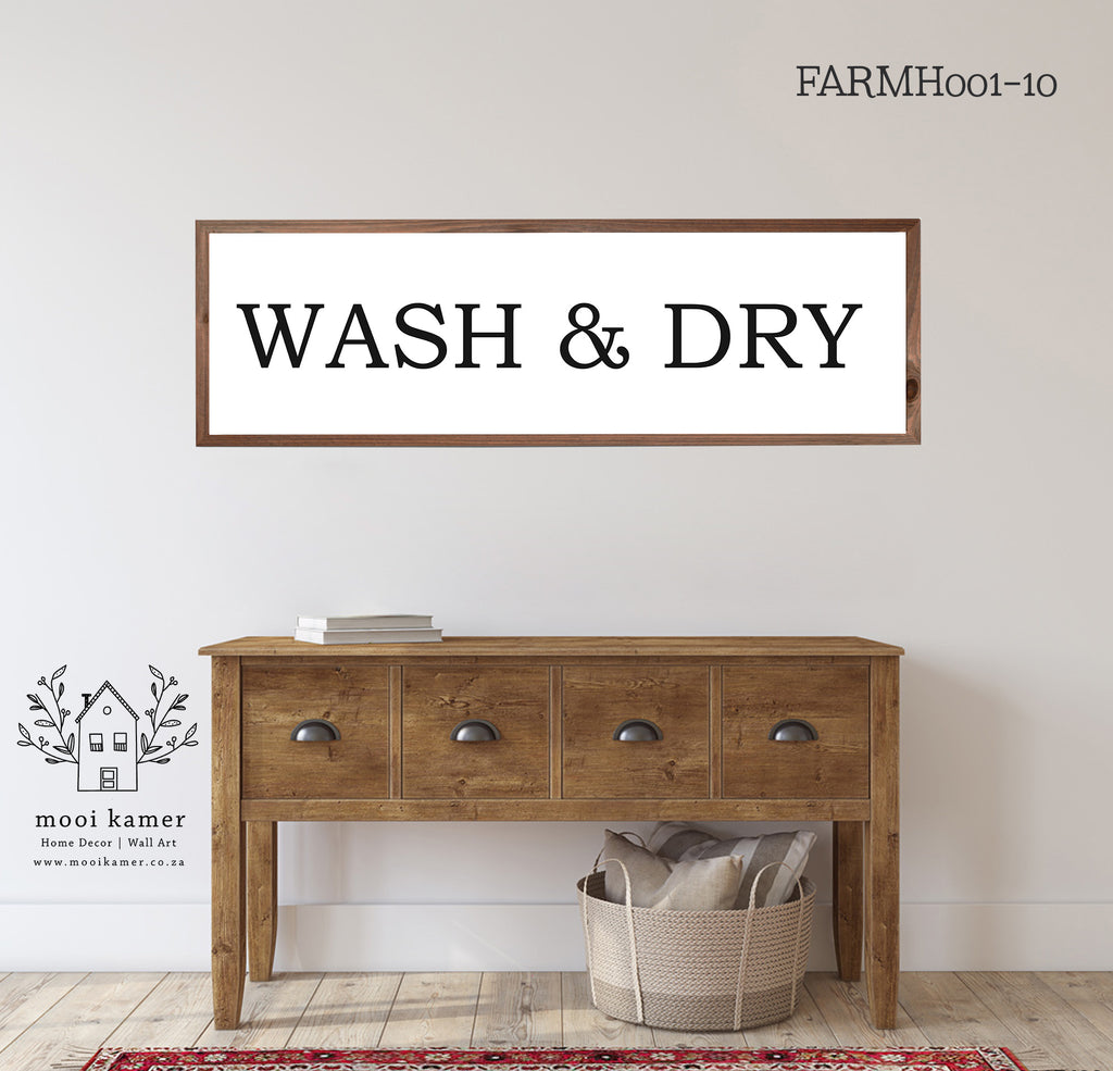 Farmhouse | Wash & Dry