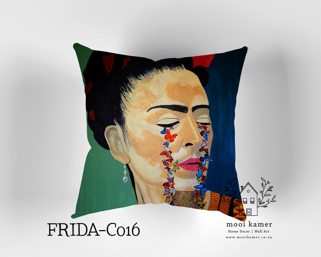 Cushion | FRIDA | Premium Mock Linen | Inner not Included