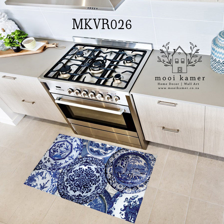 KITCHEN | BATHROOM | VINYL RUG | DELFT