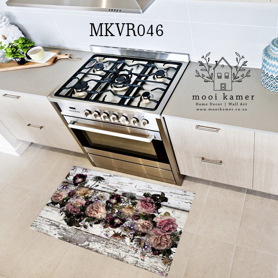 KITCHEN | BATHROOM | VINYL RUG | FLORAL
