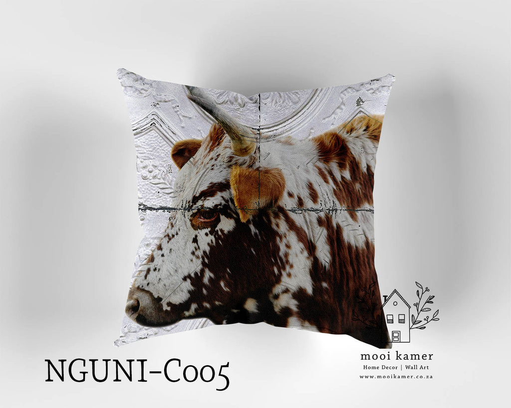 Cushion | NGUNI | Premium Mock Linen | Inner not Included